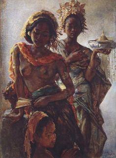 turk-sanat - Willem Gerard HofkerWillem Gerard Hofker, Hollanda, 1902-1981 Avrupa'da 1900'lerin başlarında doğmuş Avrupa,da ressam-gezginlerin okula aitti. Onlar 1930'larda Endonezya tropik ve birleşik cazibesine kapilarak birlikte Meier, Hofker ve Bonnet ile Afrika, Orta Doğu, ya da Avustralya,ya taşındı. Koleksiyonu Endonezya adalarında yaptığı kapsamlı seyahatler sırasında oluşmaktadır. Bali yerel halkinin yüzlerini temsil eder.