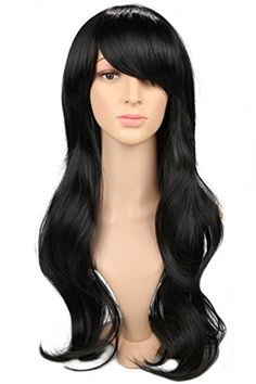 Hearty 28 Long Straight Wigs For Women Heat Resistant Falt Bangs Natural Ombre Wig Cosplay Costume Party Synthetic Hair Mapofbeauty Convenience Goods Synthetic None-lacewigs Hair Extensions & Wigs