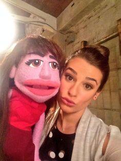 Puppet Rachel and Lea