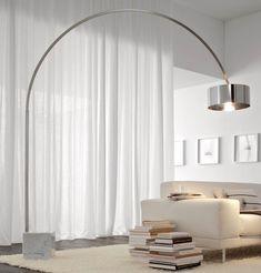 Die 22 Besten Bilder Von Interieur Arc Lamp Lighting Und Living Room