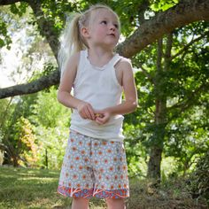 Unisex Shorts Hexagon Size 4 years by WhatTheFrockNZ on Etsy
