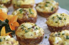Quiche Bites - in Little Black Dress Attire!