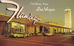 Flamingo Hotel: I have a different picture of this same hotel hanging on my wall!