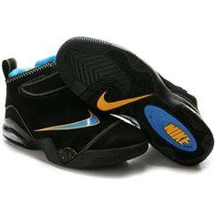 d822d705961a Nike Zoom Flight Club Tony Parker Shoes Black Yellow Sport