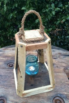 Woodworking Workshop How To Use .Woodworking Workshop How To Use Old Lanterns, Rustic Lanterns, Rustic Candles, Unique Candles, Unique Candle Holders, Glass Tea Light Holders, Tealight Candle Holders, Awesome Woodworking Ideas, Woodworking Projects