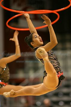 Rhythmic Gymnastics team (USA) from Thiais 2009 Competition
