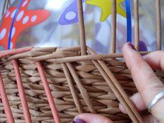 Moje pletení z papíru - Fotoalbum - NÁVOD - NA UZAVÍRKY - NÁVOD - NA TŘÍPÁROVOU UZAVÍRKU 12