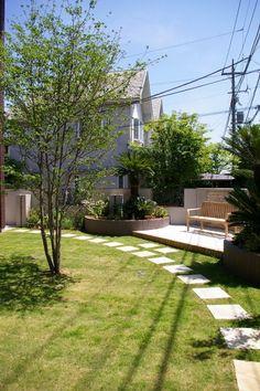 ガーデン施工事例 / 芝生、ペットガーデン、シンボルツリー、ガーデンリフォーム
