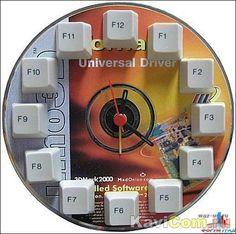 Часы из CD-диска и что еще можно сделать из CD-дисков