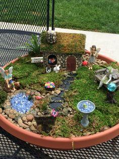 I made this fairy garden for inspiration my fairy garden, garden trees, g.