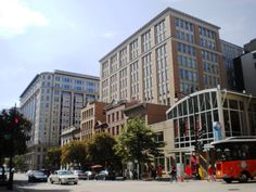 streets of DC, modern and old