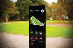 Potential for Beddington Park wayfinding