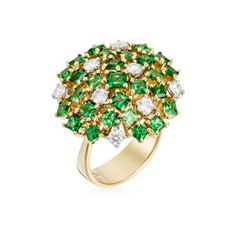 Beautiful ring, gold and diamonds by Roberto Coin