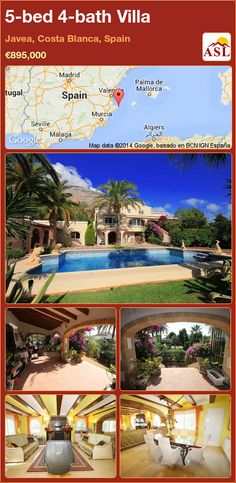 5-bed 4-bath Villa in Javea, Costa Blanca, Spain ►€895,000 #PropertyForSaleInSpain