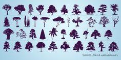 Subikto Tree Font   dafont.com
