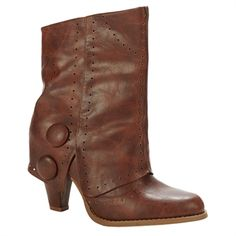 Not Rated Most Wanted Perforated Foldover Cuff Boot
