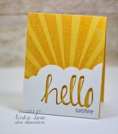 karolyn's card shines!