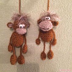 Мои первые обезьянки.
