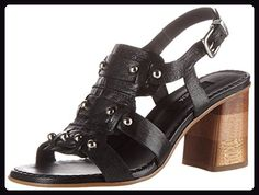 Zinda Damen 2806 Offene Sandalen, Schwarz (Negro), 40 EU - Sandalen für frauen (*Partner-Link)