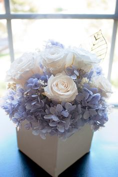 Preserved Flower Bouquet Box by EternalRoseStore on Etsy, $64.00