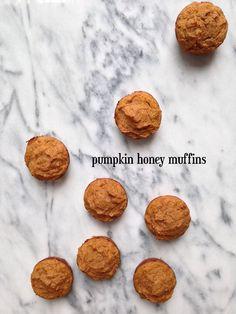 Pumpkin Honey Muffins #glutenfree #grainfree #dairyfree | The Slender Student