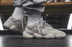 99ac78e5edca9 Detailed Look At The adidas Yeezy Desert Rat 500 Blush Plimsolls