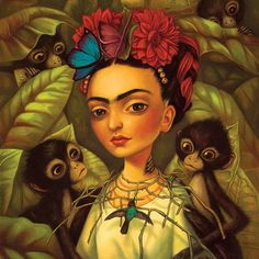 Feliz cumpleaños Frida !!! She would have 109 years today! Here an image…