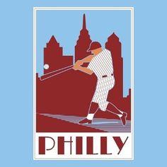 Philadelphia Sports, Brotherly Love, Sports Pictures, Sports Art, Major League, Art Deco, Baseball, Art Camp, Phan