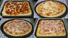 Come fare la pizza in casa, leggera altissima digeribilità - Recipe Ital. Pasta Salad Recipes, Pizza Recipes, Easy Dinner Recipes, Snack Recipes, Food Tags, Bread Machine Recipes, Biscotti, Soul Food, Italian Recipes