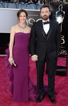 The cutest couple award goes to Jennifer Garner and Ben Affleck