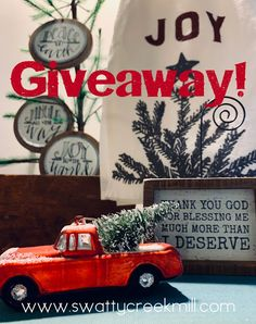 """It's a week of giving and as promised; we have a lot in store for you! So let's play a game, for a chance at some giveaways. Here's how we'll play: Is there really a mill? You bet! Can you guess what the locals used to call it? Here's a hint… """"Old _ _ _ …"""