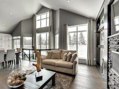 Experience the elegance and functionality of this custom designed 3,900 square foot bungalow with a loft. Enter from the front door to a beautiful open concept main floor with vaulted ceilin…