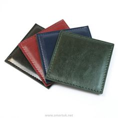 Stitched Hide Leather Placemats and Leather Coasters by Smart Hospitality. We offer a stunning range of leather placemats and leather coasters with matching restaurant accessories. Menu Holders, Leather Coasters, Stitch, Full Stop, Sew, Stitches, Embroidery
