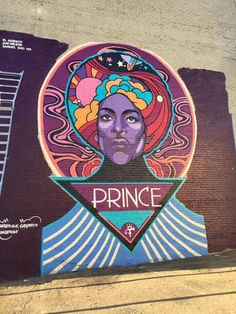 Wow...Denver is representing with this wonderful Prince mural on Broadway!!