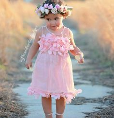 PRE ORDER - Girls Sleeveless Dress with Leaf Neckline - Flower Girls Dress - Party Dress - Special Occasion Dress