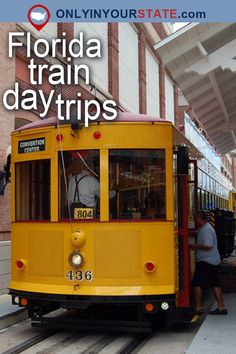 Travel | Florida | Attractions | USA | East Coast | Day Trips | Things To Do | Bucket List | Places To Visit | Florida Vacation | Weekend Getaway | Dinner Train | Train Rides | Outdoor | Adventure | Tampa | Savannah | Museum | Amtrak | Railway | Hidden Gems