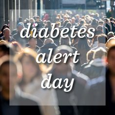Be aware! You aren't alone, so many people are in your corner in support of fighting this condition. Join us as we celebrate awareness for Diabetes!