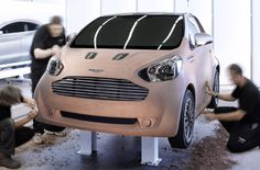 The new Aston Martin Cygnet based on Toyota's iQ.