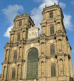 """Cathédrale saint pierre de rennes - en Ille & Vilaine """"35"""""""