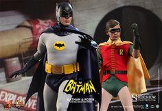 1966 Batman and Robin Sixth-Scale Figures
