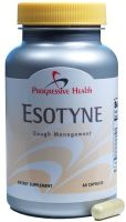 Esotyne - Get Rid of Your Cough Esotyne, a natural cough remedy, may be helpful for those experiencing a chronic cough while also reducing inflammation and irritation from the cough.