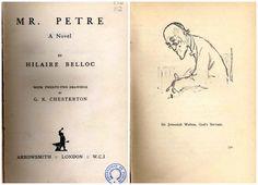Joseph Hilaire Pierre René Belloc (1870-1953) fue uno de los más prolíficos escritores de Inglaterra en los comienzos del siglo XX. Con hombres tales como G. K. Chesterton, Belloc incursionó en lo que luego se llamaría el distributismo, un sistema económico-político basado en las enseñanzas sociales de la Iglesia católica y en la encíclica Rerum Novarum del Papa León XIII. (Fuente: Wikipedia)  La obra de Belloc incluida en la colección Club Inglés Bellavista es la novela titulada Mr. Petre…