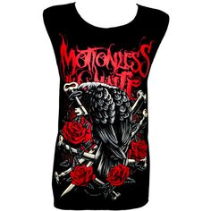 MOTIONLESS IN WHITE Rock Band Music Metal Skull T Shirt Tank Top Size... (€11) ❤ liked on Polyvore featuring tops, white top, rock tops, skull top and metal top