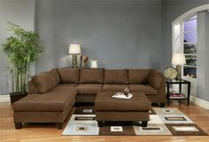 Hermosa Chocolate Sectional