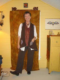 JillyBeJoyful: The Evolution of an Accidental Vest (K Tilton V8777)