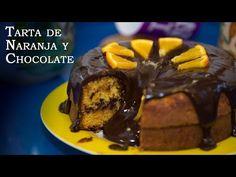 Tarta de naranja con chocolate | La receta más fácil de todas | El Saber Culinario
