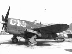 p 47 thunderbolt fighter - some other country