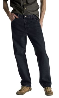 24eba1860f3 Dickies Mens Overdyed Relaxed Fit Jean Black 40x34  gt  gt  gt  Want  additional