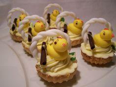 Ovocné košíčky s vanilkovým krémom Cupcakes, Cupcake Cakes, Cup Cakes, Muffin, Cupcake