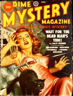 Dime Mystery, Aug. #vintage comics covers